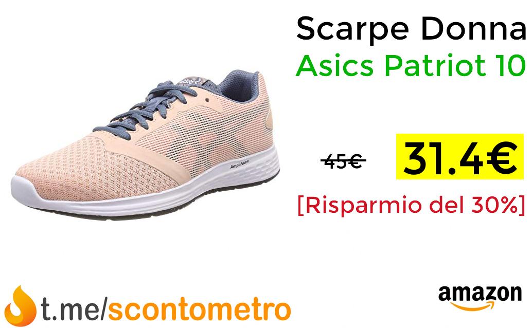Scarpe Donna Asics Patriot 10 31.4€ pepper.it