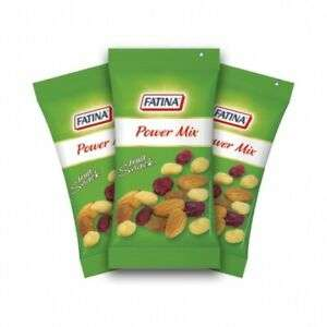 Fatina Power Mix [26 Bustine] Frutta Secca 30 Gr Mandorle Arachidi