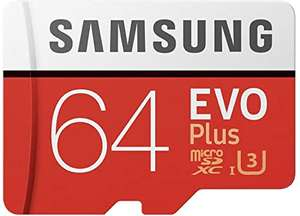 Samsung Memorie MB-Mc64Ga Evo Plus Scheda Microsdxc da 64 Gb