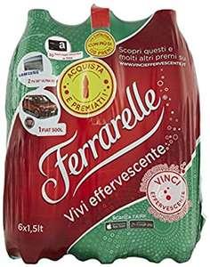 Ferrarelle Acqua Effervescente Naturale, 6 x 1.5 L