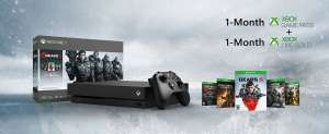 Microsoft Bundle Xbox One X Gears 5 (1 TB) Nero 1000 GB