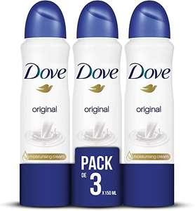 Pack da 3 - Deodorante Dove Original