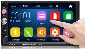 """Autoradio Bluetooth 7"""" Schermo Touch 21.8€"""