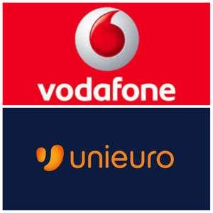 10€ Unieuro con Happy Black Vodafone