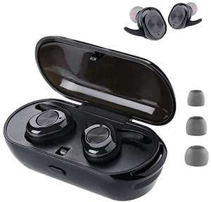 Auricolari Wireless Bluetooth 5.0 - 24 Ore 9.9€