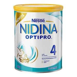 800gr Nidina OPTIPRO 4 da 24 Mesi Latte di Crescita in Polvere