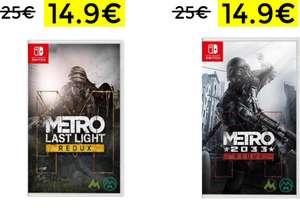 Metro 2033 Redux Metro Last Light 14.9€