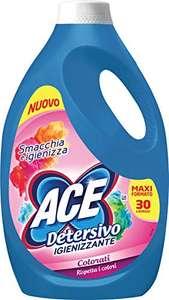 ACE Detersivo Igienizzante Colorati, 30 Lavaggi, 1650 ml