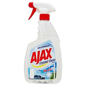 6x750ml Ajax - Detersivo Crystal Clean, per Vetri, Con Ammoniaca