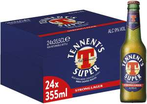 Birra Tennent's Super 24 x 355 ml 26.1€