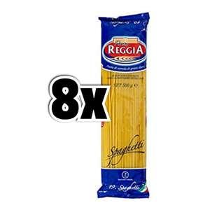 8x 500gr Pasta Reggia Spaghetti