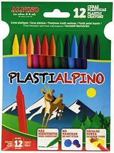 Alpino 946215 Astuccio 12 Pastelli a cera