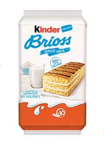 Kinder Brioss, confezione da 10 merendine