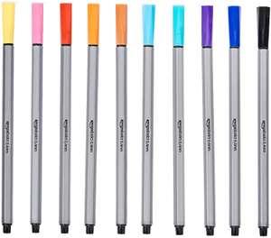 10 Penne Assortite Tratto fino - Colorate