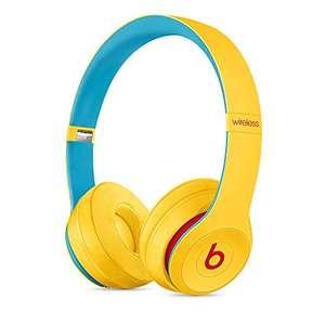 Beats Solo3 Wireless Cuffie – Chip per cuffie Apple W1, Bluetooth di Classe 1, 40 ore di ascolto – Giallo Club