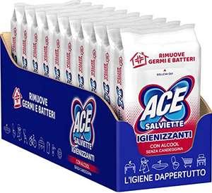 Ace Salviette Igienizzanti con Alcool, 400 salviette