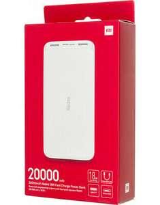 XIAOMI POWERBANK 20000 mAH RICARICA RAPIDA 2 PORTE USB-A 1X USB-C 1X MICRO-USB
