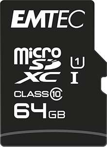 Micro SD XC 64 gb EMTEC