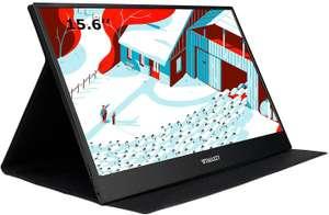 WIMAXIT Monitor portatile da 15,6 pollici, Touchscreen
