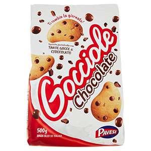 500gr Pavesi Biscotti Frollini Gocciole Cioccolato