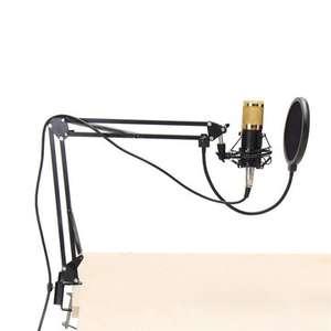 Microfono + filtro anti pop + supporto