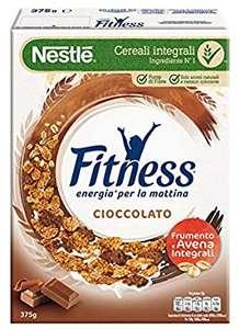 8x 375gr diFITNESS Cereali con Frumento e Avena Integrali e Fiocchi Ricoperti di Cioccolato