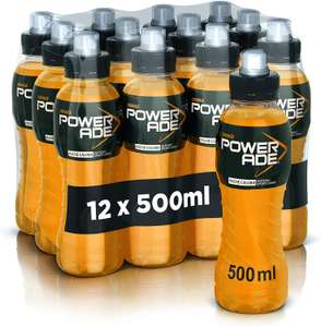 12x Powerade Sport Drink Orange Gusto Arancia 500 ml
