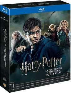 Harry Potter Collection (Standard Edition) (8 Blu-Ray) + Kit Hogwarts