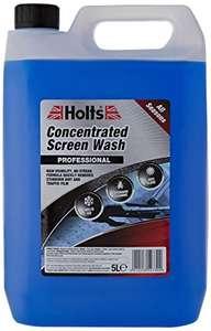 Liquido detergente concentrato per tergicristalli, 5 L