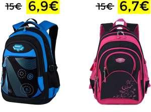 Zaino Scuola Blu Grande capienza 6.9€