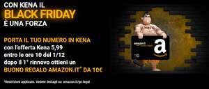 Black Friday Kena Mobile: 70GB + minuti e SMS illimitati a 5,99€ (+10€ AMAZON)