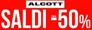 Saldi Fino al 50% da Alcott per Uomo e Donna