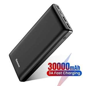Powerbank 30000mah Baesus 21.4€