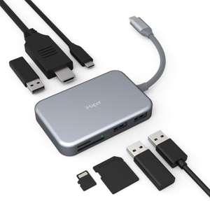 Hub USB C 7 in 1 60W 12.3€