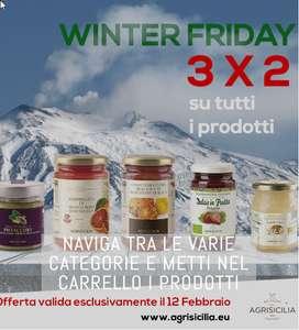 Agrisicilia - WINTER FRIDAY - 3x2 SU TUTTI I PRODOTTI