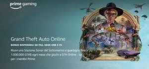 Twitch Prime Game Grand Theft Auto Online Stazione Sonar del Sottomarino