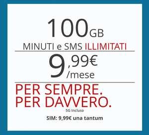 Iliad 5G: 100GB MINUTI e SMSILLIMITATI a 9,99€/mese