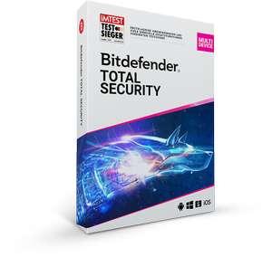 Bitdefender Total Security GRATIS per 6 mesi