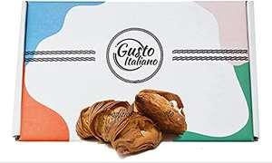CODINE di Pasta Sfoglia Con Box Regalo RIPIENE AL CIOCCOLATO BIANCO 500 grami