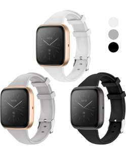 KIMILAR 3Pcs Cinturino Compatibile con Fitbit Versa/Versa 2 / Versa Lite