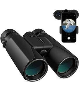 APEMAN 10 x 42 HD Portatile Binocolo con Smart Phone Adattatore