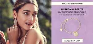 Stroili: Con una spesa superiore ai €65 ricevi subito un prezioso bracciale donna in Omaggio, approfittane subito!