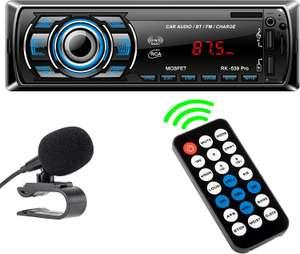 Autoradio Bluetooth con Telecomando - USB 10.5€