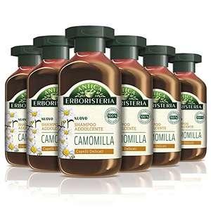 6x250ml Antica Erboristeria Shampoo Addolcente Camomilla