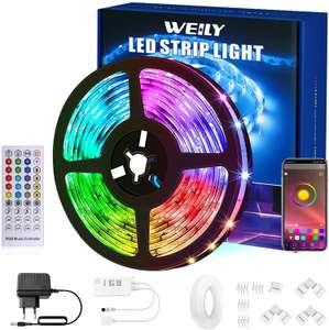 Striscia LED 15M Bluetooth 4.99€