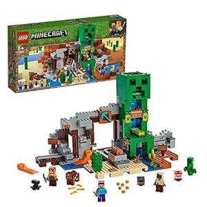 LEGO Minecraft La Miniera del Creeper, Set da Costruzione con Minifigura di Steve