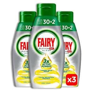 Fairy Platinum Gel 96 Lavaggi