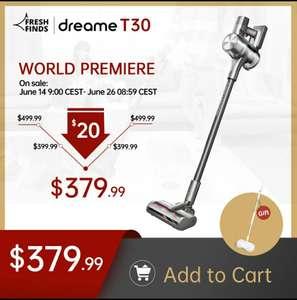 Dreame T30 aspirapolvere Wireless portatile 27kPa