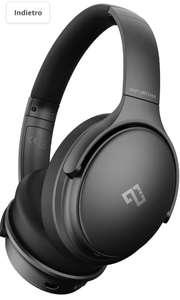 Infurture Noise Cancelling Headphones Cuffie Wireless Bluetooth 5.0 Cancellazione Attiva del Rumore
