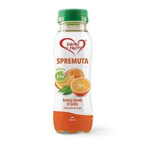 Cuore di Frutta Succo Biologico di Arancia Bionda di Sicilia - 12 bottiglie da 250ml